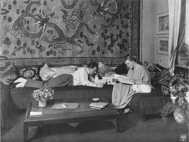 Thea Von Harbou y Firtz Lang